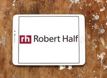 Robert Half International företagslogo Royaltyfri Foto