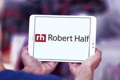 Robert Half International företagslogo Arkivbild