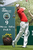 Robert Karlsson - 9th Tee Stock Image