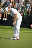 Robert Karlsson Final Putt - 18th - NCG2008 Stock Photos