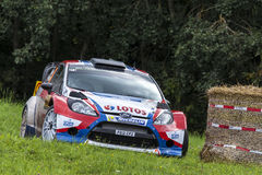 Robert Kubica at ADAC Rally Deutschland 2014 Stock Image