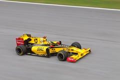 Robert Kubica bij Maleise F1 Royalty-vrije Stock Foto