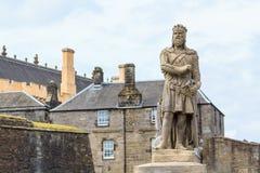 Robert le Bruce, roi des Ecossais image libre de droits