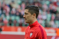 Robert Lewandowski Stockfotografie