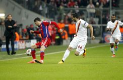 ROBERT LEWANDOWSKI BAYERN MUNICH Stock Images