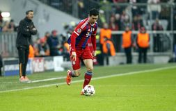 ROBERT LEWANDOWSKI BAYERN MUNICH Royalty Free Stock Photography