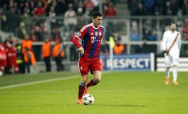 ROBERT LEWANDOWSKI BAYERN MUNICH Royalty Free Stock Image
