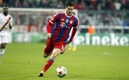 ROBERT LEWANDOWSKI BAYERN MUNICH Royalty Free Stock Images