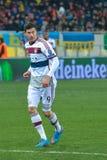Robert Lewandowski. Match between FC Shakhtar vs FC Bayern. Champions League Royalty Free Stock Images