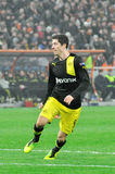 Robert Lewandowski running Royalty Free Stock Photography
