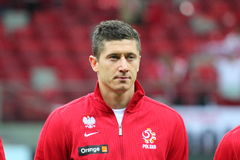 Robert Lewandowski Royalty Free Stock Photography