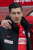 Robert Lewandowski Royalty Free Stock Images