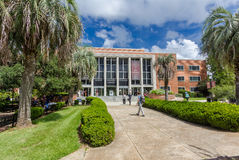 Robert Manning Strozier Library at Florida State University. On September 13, 2016 in Tallahassee, Florida Stock Image