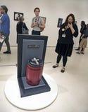 Robert Mapplethorpe Exhibition en el museo de Guggenheim fotografía de archivo libre de regalías