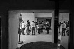 Robert Mondavi Winery som är svartvit Fotografering för Bildbyråer