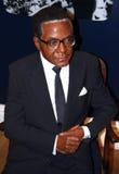 Robert Mugabe en señora Tussaud fotografía de archivo