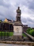 Robert o Bruce, Stirling imagens de stock royalty free