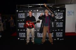 Robert o'Reilly et JG Hertzler à la destination Star Trek dans Lon Images libres de droits