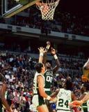 Robert Parrish, centre, Celtics de Boston Photos stock