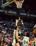 Robert Parrish, centro, Celtics de Boston Fotos de archivo