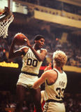 Robert Parrish and Larry Bird Stock Image