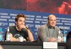 Robert Pattinson και Nathan Zellner σε Berlinale 2018 στοκ εικόνα με δικαίωμα ελεύθερης χρήσης