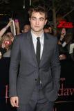 Robert Pattinson. LOS ANGELES - NOV 14:  Robert Pattinson arrives at the Twilight: Breaking Dawn Part 1 World Premiere at Nokia Theater at LA LIve on November 14 Royalty Free Stock Photography