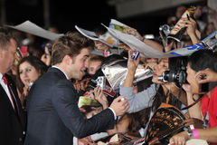 Robert Pattinson Photos libres de droits