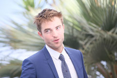 Robert Pattinson attends the `Good Time` photocall. During the 70th annual Cannes Film Festival at Palais des Festivals on May 25, 2017 in Cannes, France Royalty Free Stock Image