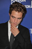 Robert Pattinson. BEVERLY HILLS, CA - AUGUST 14, 2014: Actor Robert Pattinson at the Hollywood Foreign Press Association's annual Grants Banquet at the Beverly Stock Photos