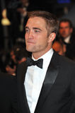 Robert Pattinson. CANNES, FRANCE - MAY 18, 2014: Robert Pattinson at the gala premiere of his movie The Rover at the 67th Festival de Cannes Stock Image