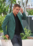 Robert Pattinson. CANNES, FRANCE - MAY 18, 2014: Robert Pattinson at the photocall for his movie The Rover at the 67th Festival de Cannes Stock Photography