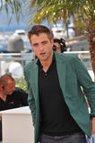 Robert Pattinson. CANNES, FRANCE - MAY 18, 2014: Robert Pattinson at the photocall for his movie The Rover at the 67th Festival de Cannes Stock Photo