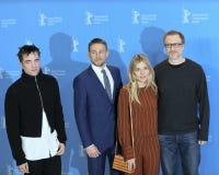 Robert Pattinson, Charlie Hunnam, Sienna Μίλερ, James γκρίζος Στοκ Φωτογραφία