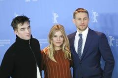 Robert Pattinson, Charlie Hunnam, Sienna Miller Royalty Free Stock Photo