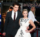 Robert Pattinson e Reese Witherspoon Foto de Stock
