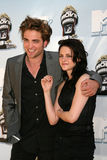 Robert Pattinson,Kristen Stewart Royalty Free Stock Photo