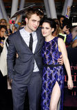 Robert Pattinson and Kristen Stewart Royalty Free Stock Photo