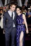 Robert Pattinson and Kristen Stewart Royalty Free Stock Image