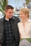 Robert Pattinson & Mia Wasikowska Stock Images