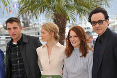 Robert Pattinson & Mia Wasikowska & Julianne Moore & John Cusack Royalty Free Stock Image