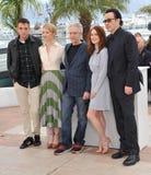 Robert Pattinson & Mia Wasikowska & Julianne Moore & John Cusack & David Cronenberg Royalty Free Stock Images