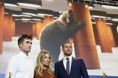 Robert Pattinson, Sienna Μίλερ, Charlie Hunnam Στοκ εικόνες με δικαίωμα ελεύθερης χρήσης