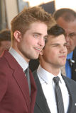 Robert Pattinson,Taylor Lautner Royalty Free Stock Photos