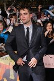 Robert Pattinson. At 'The Twilight Saga: Breaking Dawn - Part 1' Los Angeles Premiere, Nokia Theatre L.A. Live, Los Angeles, CA 11-14-11 Royalty Free Stock Images