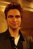 Robert Pattinson Wax Figure. A wax figure of movie star Robert Pattinson at Madame Tussauds, in New York City Stock Image