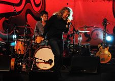Robert Plant foto de stock royalty free
