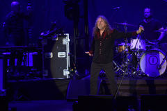 Robert Plant Fotografia de Stock Royalty Free