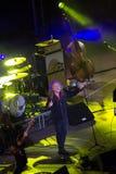 Robert Plant koncert przy Antycznym teatrem Taormina na Lipu 24th 2016 obrazy stock