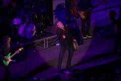 Robert Plant koncert przy Antycznym teatrem Taormina na Lipu 24th 2016 obraz stock